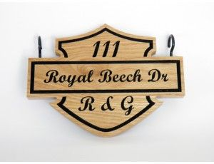 R and G Classic Motorcycle Logo