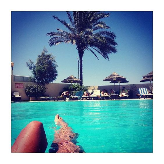 #travel #love #palmtree #greece #pool #legs #lifestyle #fashion #blogger