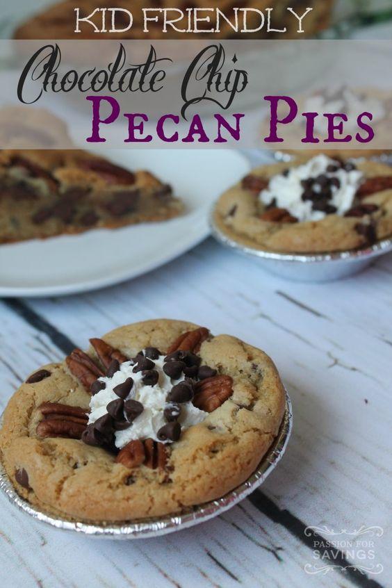 Chocolate chip pecan pie, Pecan pies and Pecans on Pinterest