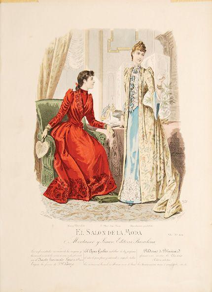 El Salon de la Moda. - LEFRANCO. - Peter Harrington Rare & First Edition Books