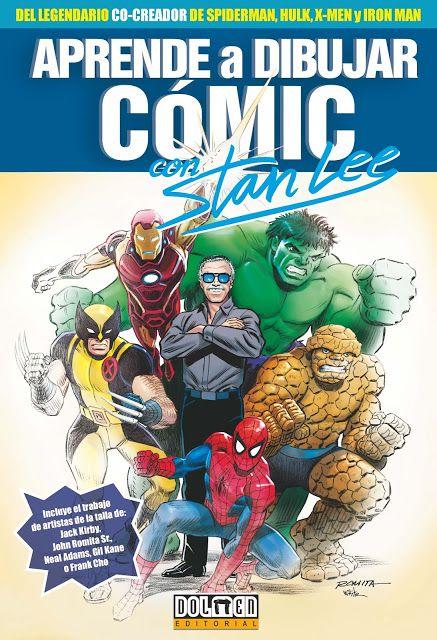 Catalonia Comics Aprende A Dibujar Comic Con Stan Lee Aprende A Dibujar Comic Dibujar Comic Como Dibujar Comics