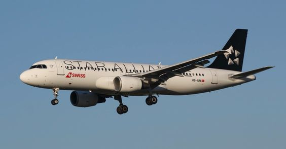 Swiss Airbus A320 @ ZRH