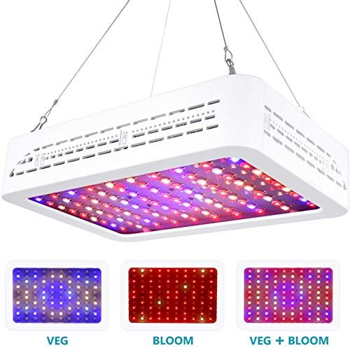 Buy Neewer 1000w Led Plant Grow Light Bloom Veg Full Spectrum Double Switch 3 Light Modes Optional Indoor Plants Growth Different Life Cycle Germination F In 2020 Grow Lights For Plants