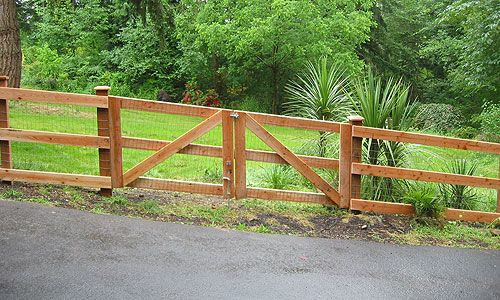 Fence Horse Fence And Country Fences On Pinterest