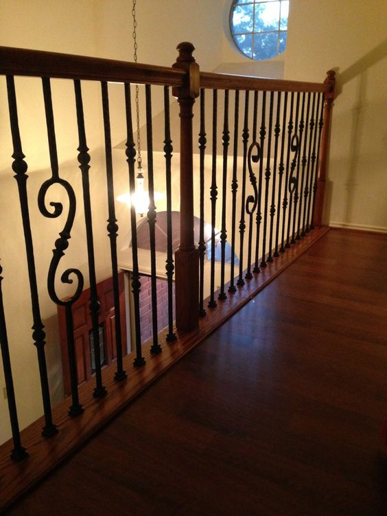At the fruend residence here in houston we did a full for Stair remodel houston