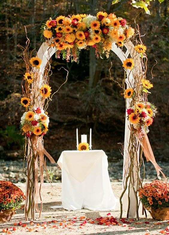 Autumn Wedding Decoration Ideas To Fall For Wedded Wonderland