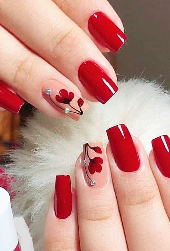Nail Art In 2020 Short Acrylic Nails Designs Spring Nails Acrylic Nail Designs