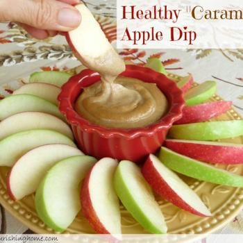 "Healthy ""Caramel"" Apple Dip (GF, DF) Recipe - ZipList"