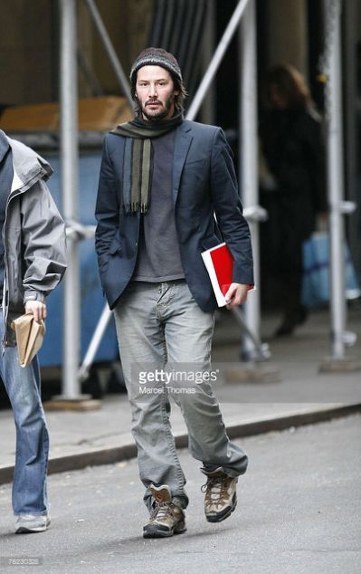 Keanu Reeves Sighting in New York