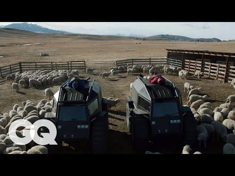Kanye West On Transforming His Wyoming Ranch Into A Yeezy Campus Gq Youtube In 2020 Kanye West Wyoming Yeezy