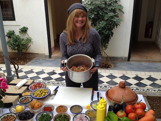 Loved taking a class at Riyad El Cadi, Moroccan Cooking School. Moroccan Food is delicious: A Feast for the Senses!