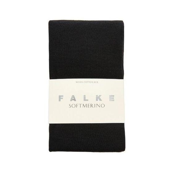 FALKE Soft Merino tights (€34) ❤ liked on Polyvore featuring intimates, hosiery, tights, black, hoisery, falke, falke tights, merino wool tights, black pantyhose and black stockings