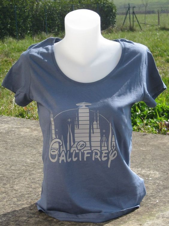 #geek #shirt #tshirt #doctorwho #gallyfrey #disney #madeinfrance