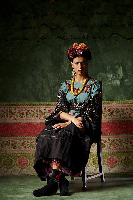 ❀ Flower Maiden Fantasy ❀ beautiful art fashion photography of women and flowers - inspired by Frida