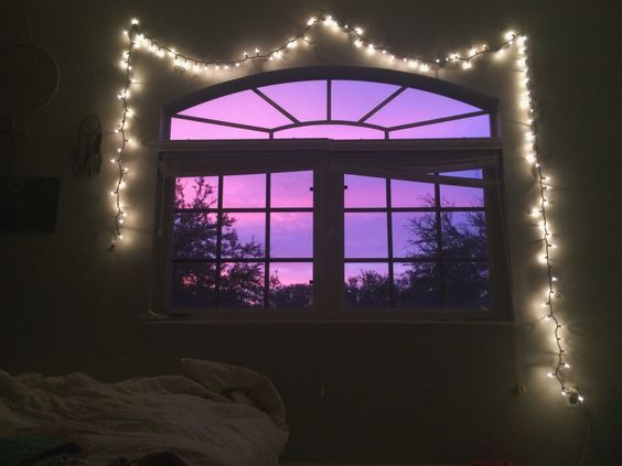 Sunset in my room is magical✨