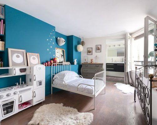 Chambre Bleu Canard Toutes Nos Idees Pour Une Decoration Reussie Chambre Bebe Bleu Et Gris Deco Chambre Ados Deco Chambre Ado Garcon