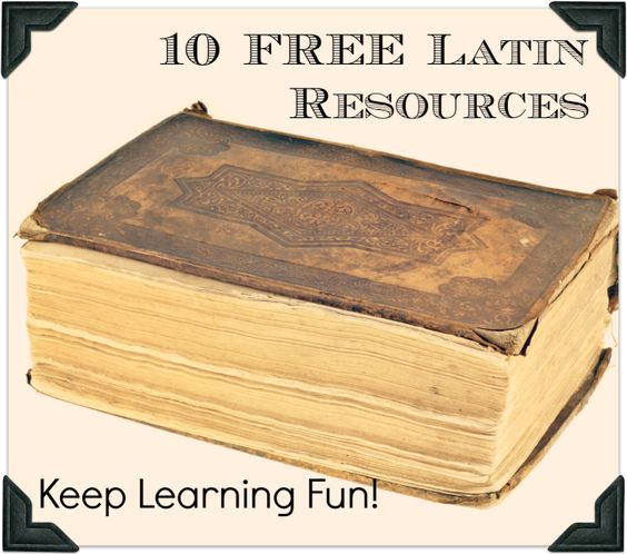 Latin for kids - Learn Latin for children - Lingua Latina ...