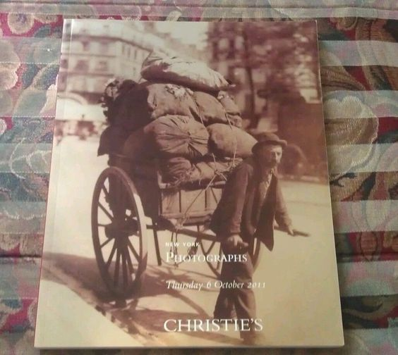 Christie's PHOTOGRAPHS, October 6, 2011....EBAY BEST PRICE!!!