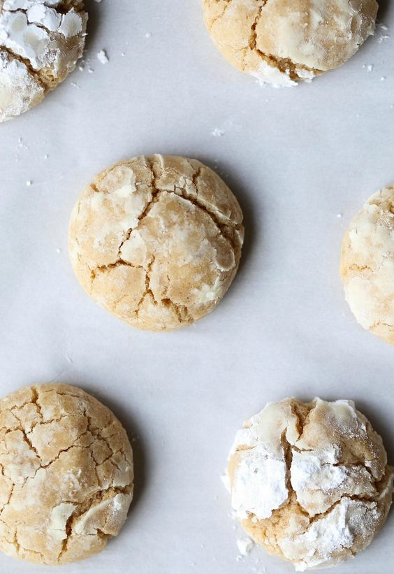 Brown Butter Cinnamon Crinkle Cookies are possibly the coziest cookie ...