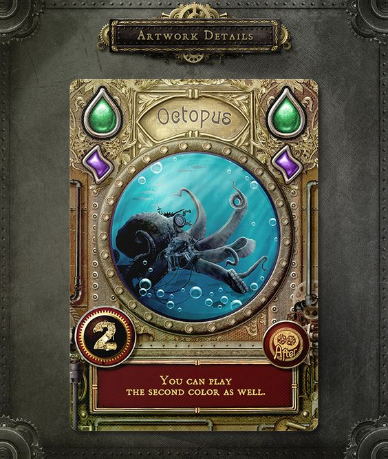 Abyssal Boardgame Design Game Card Design Card Design Board Game Design