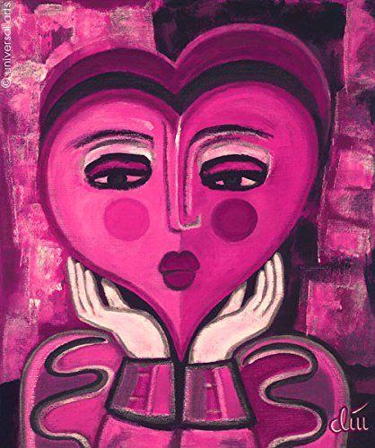 Jacqueline Ditt - Waiting for Love (Warten auf Liebe) - universal arts Galerie Studio - Grafik Druck Kunstdruck nach dem Gemälde universal arts Galerie Studio edition http://www.amazon.de/dp/B00L2GESFE/ref=cm_sw_r_pi_dp_dza8vb080D863