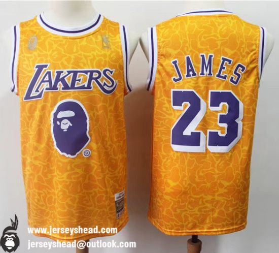 G-III Sports Mens Lakers #23 Lebron James Swingman Jerseys