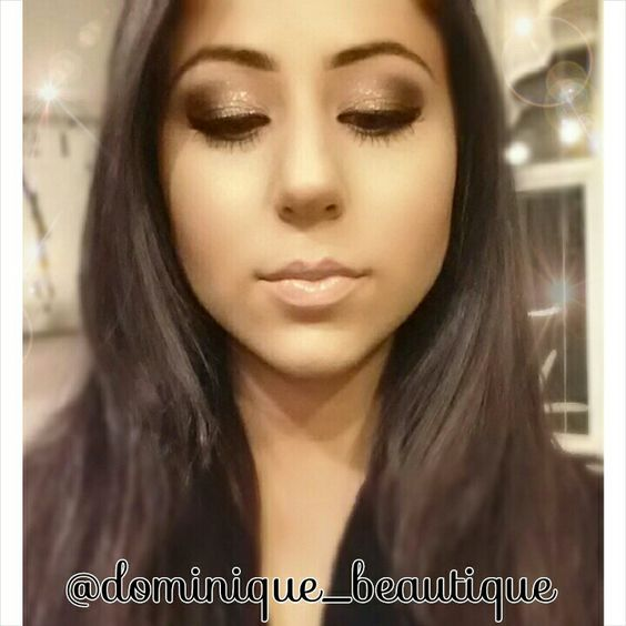 New Years Eve gold and black shimmery smoky eye | Beauty & the Boss