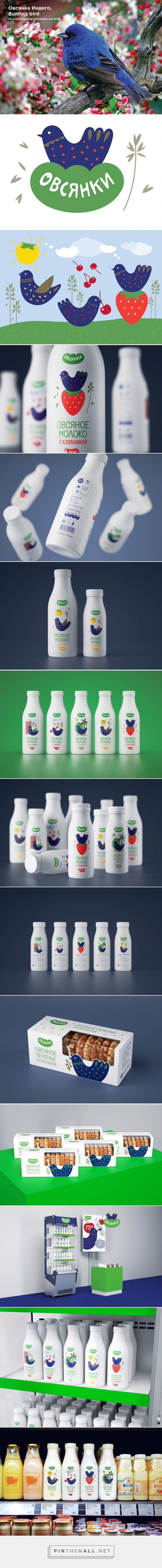 Oatbirds - oat milk student concept packaging designed by Daria Zhuchkova - http://www.packagingoftheworld.com/2015/07/oatbirds-student-project.html
