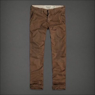dark brown khaki pants - Pi Pants
