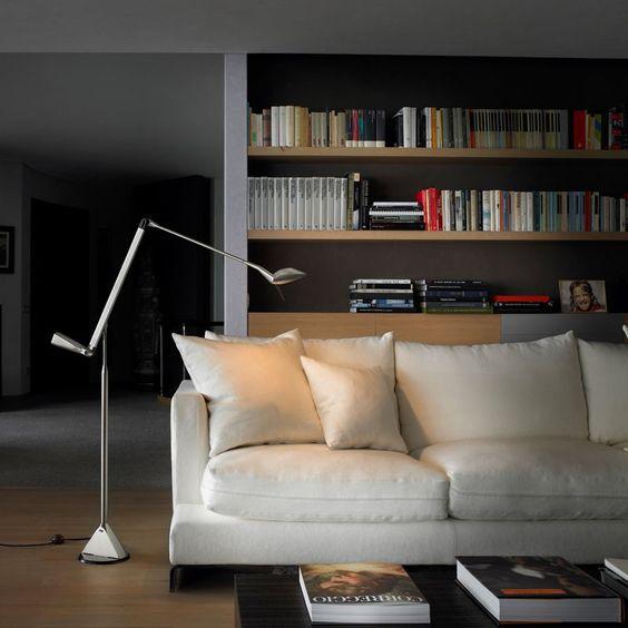 Lumina, Zelig, woonkamer, licht, verlichting, lamp, vloerlamp ...