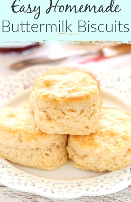 Here Is A Delicious And Incredibly Easy Biscuit Recipe These Easy Buttermilk Biscuits Are Incredibly Soft In 2020 Easy Biscuit Recipe Buttermilk Recipes Biscuit Recipe
