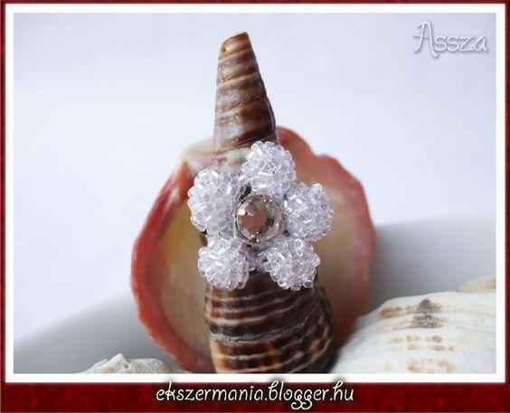 Virágos gyűrű by Ekszermania