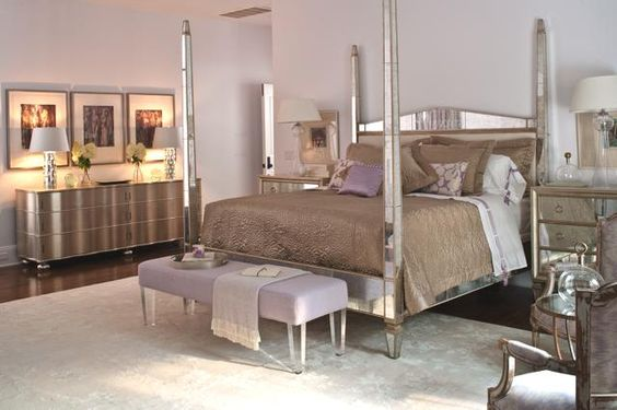Glitzy Master Bedroom