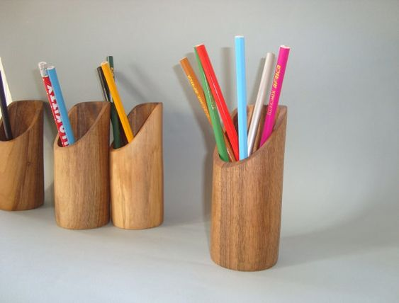 Pencil holder. Pencil pot. Pencil stand