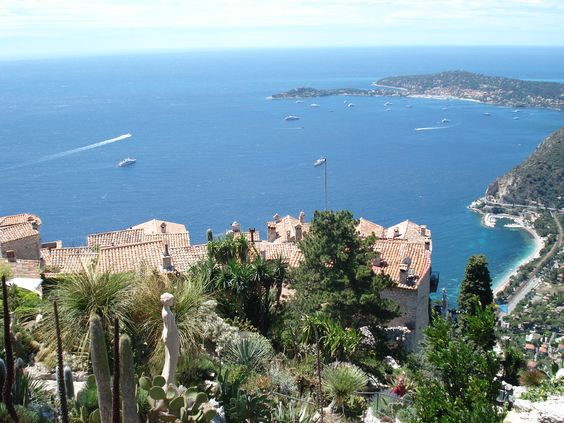View from Eze, France