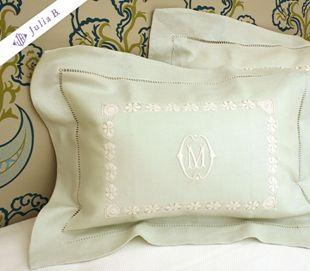 Julia B. custom linens