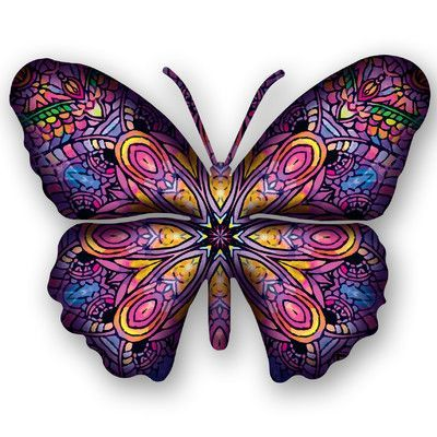 Next Innovations Steel Patchouli Butterfly 3D Wall Decor