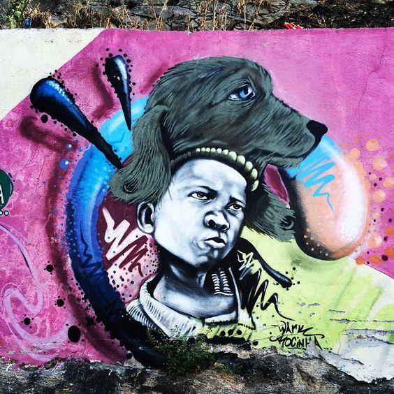 More details of the work, place and artist: http://streetartrio.com.br/artista/wark/compartilhado-por-anaeee-em-jan-28-2015-0002/ /  #artederua #arteurbana #graffiti #grafite #morrodosprazeres #resignifica #santateresa #streetart #streetartrio #urbanart #streetphotography #buildinggraffiti #graffitiart #art #streetart #handmade #street #graff  #urban #wallart #spraypaint #aerosol #spray #wall #mural #murals #painting #arte #color #streetartistry #artist #grafiti #urbano #rue #guerillaart