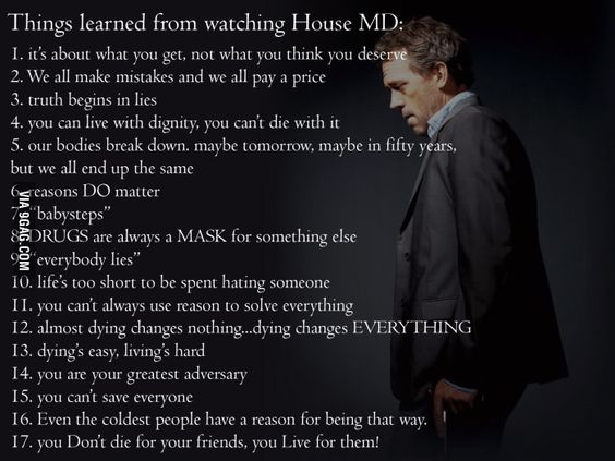 House MD Meme | Lessons from House MD: