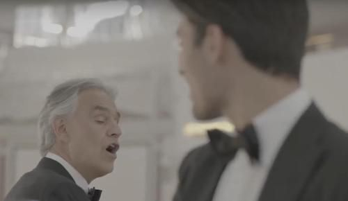 Andrea Bocelli Duets With Age 20 Son Matteo For First Time In