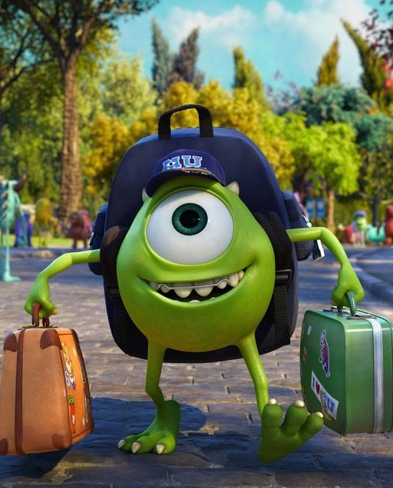 Monsters University. Such a great film...the perfect prequel to my favorite Pixar movie! :)