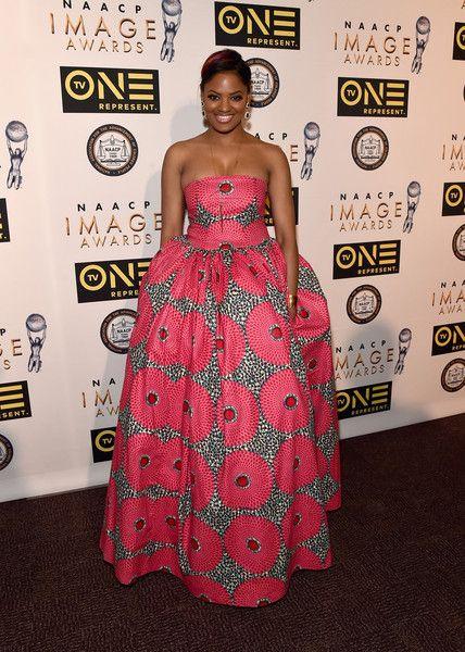 Belle of the Ball! Directress Nzingha Stewart rocked a pink princess gown for the festivities.