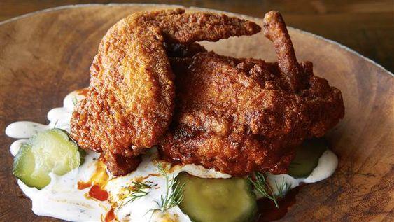 Hot-gebratenes Huhn