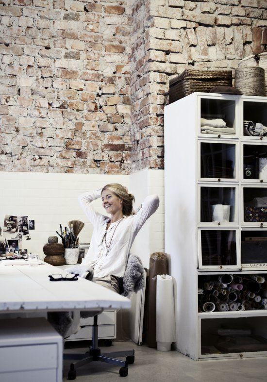 Vosges paris: Atelier 54 - An industrial Stockholm office