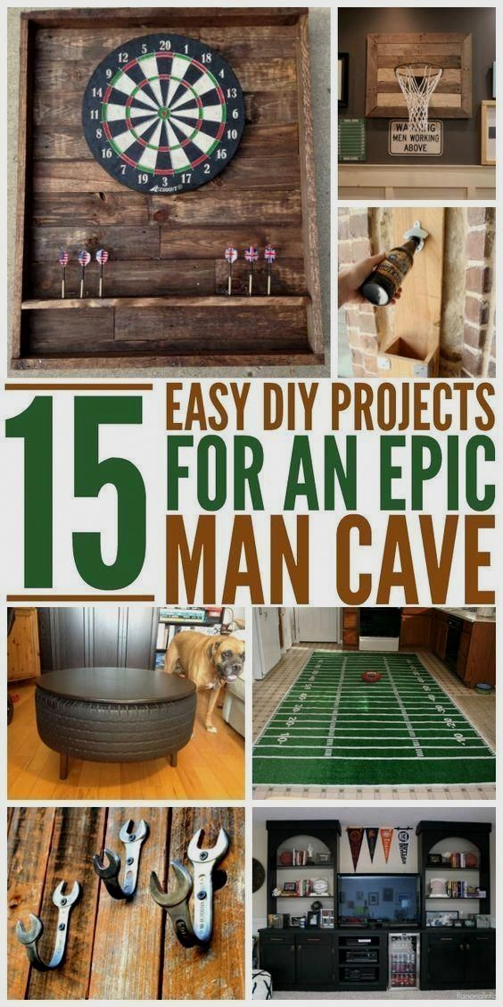 36 Bachelor Pad Apartment Suggestions Every Bachelor Needs To See In 2020 Diy Projects Man Cave Diy Game Room Bar