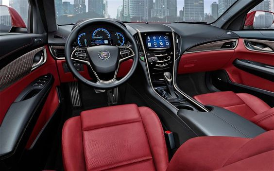 our other la car suprised how much we love the 2 tone 2014 cadillac ats interior black red. Black Bedroom Furniture Sets. Home Design Ideas