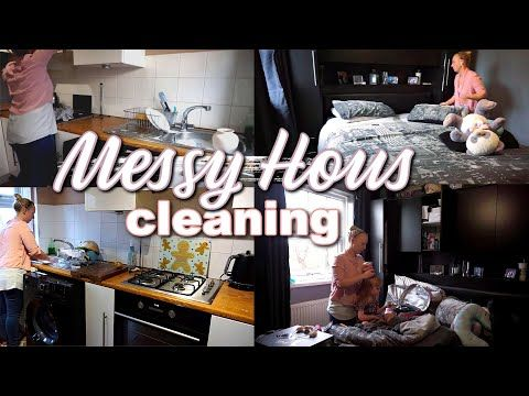 Real Life Entire Messy Cleaning Messy House Cleaning Routine