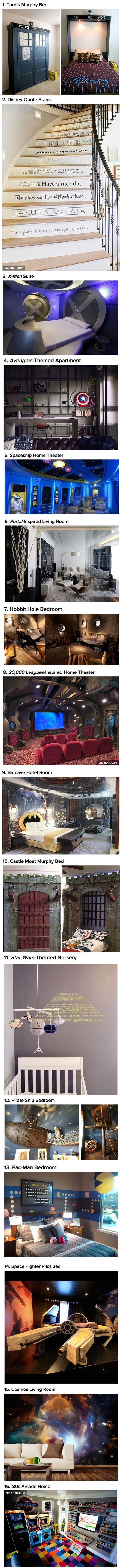 16 Geeky Interior Designs You'll Want To Have In Your House