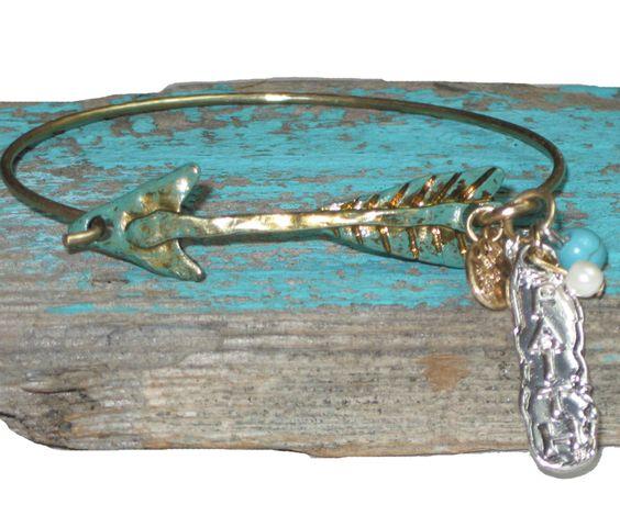 Faith Arrow Bracelet $12.99