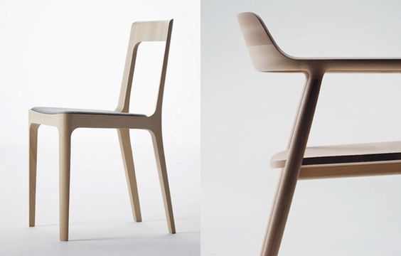 Naoto Fukasawa for Maruni - Hiroshima Chair and Arm Chair